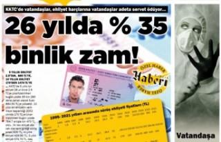 KKTC Gazete Manşetleri / 08 Eylül 2021