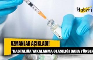 Kronik rahatsızlığı olanlar aşıdan sonra bile...