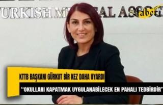 """KTTB Başkanı Gürkut Bir Kez Daha Uyardı. """"Okulları..."""