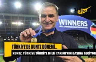 Kuntz, Türkiye Milli Takımı'nın başına...