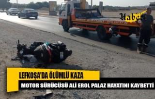 Lefkoşa'da Ölümlü kaza…