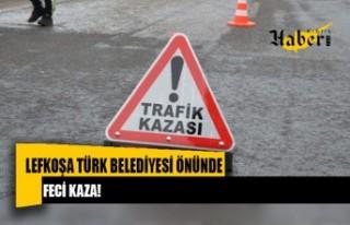 LTB önünde trafik kazası!