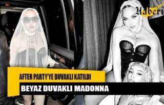 Madonna, MTV Video Müzik Ödülleri after party'ye...