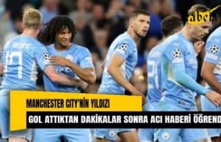 Manchester City'nin yıldızı gol attıktan...
