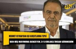 Mehmet Ceyhan'dan aşı karşıtlarına tepki:...