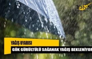Meteoroloji'den Sağanak Yağış Uyarısı…