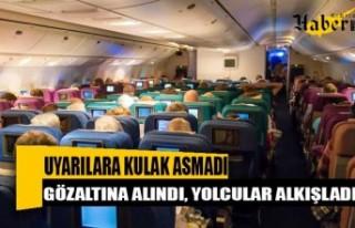 Moskova - Antalya uçağında hareketli dakikalar!