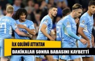 Şampiyonlar Ligi'ndeki ilk golünü attıktan...