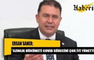 """Saner: """"Azınlık Hükümeti COVID sürecini çok..."""