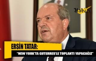 Tatar İzmir'deki temaslarını tamamlayarak KKTC'ye...