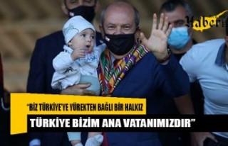 """Tatar: """"Biz Türkiye'ye Yürekten Bağli Bir..."""