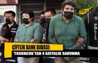 'Tosuncuk' lakaplı Mehmet Aydın bugün...