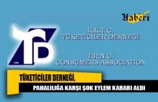 Tüketiciler Derneği, Pahalılığa Karşı Şok...
