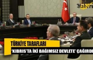Türkiye tarafları 'Kıbrıs'ta iki bağımsız...