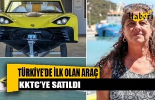 Türkiye'de İlk Olan Araç KKTC'ye Satıldı