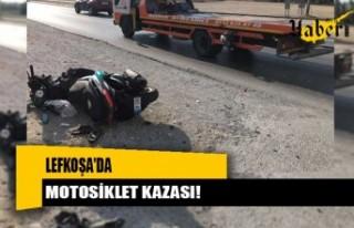 Yine motosiklet kazası!