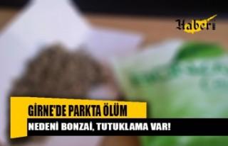 Girne'de Parkta Ölümün Nedeni BONZAİ, tutuklama...