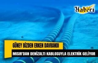 Güney erken davrandı: Mısır'dan denizaltı...