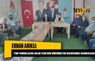 Hükümetin istifası sonrasında YDP MYK toplandı
