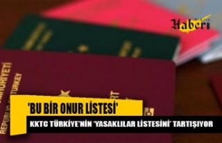 KKTC Türkiye'nin 'yasaklılar listesini' tartışıyor