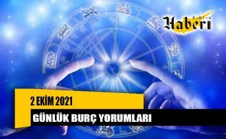 2 EKİM 2021 günlük burç yorumları