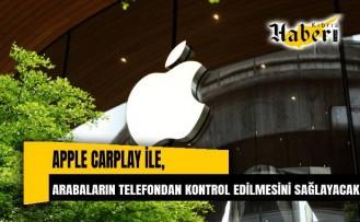 Apple, CarPlay'e entegre olarak otomobillerin çeşitli özelliklerinin telefondan kontrol edilmesine olanak tanıyacak