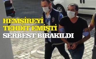 Büşra hemşireyi tehdit eden Süleyman Kaan Altınok serbest bırakıldı
