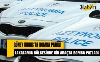 Güney Kıbrıs'ta bomba paniği