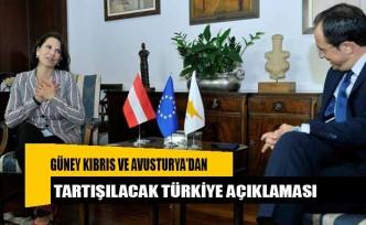 Güney Kıbrıs ve Avusturya'dan tartışılacak Türkiye açıklaması