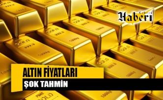 Dev bankadan altın fiyatları için şok tahmin