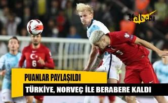 Türkiye A Milli Takımı, Norveç ile berabere kaldı