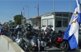 Rum Motorsikletçiler Metehan'da eylem yaptı