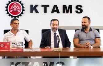 Serdar Denktaş KTAMS'ı ziyaret etti