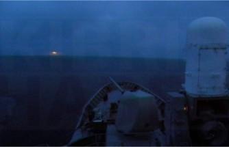 Yunan Donanması Oruç Reis ile karşı karşıya