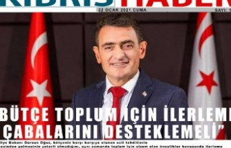 """OĞUZ: """"BÜTÇE TOPLUM İÇİN İLERLEME ÇABALARINI DESTEKLEMELİ"""""""
