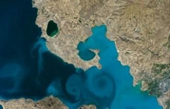 Van Gölü'ne oy yağmuru: NASA'nın sitesi çöktü