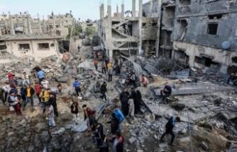 Gazze'de 61'i çocuk 212 kişi hayatını kaybetti
