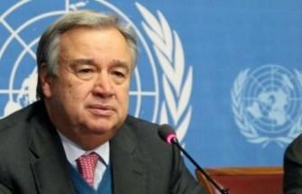 """Guterres'ten Gazze ve İsrail'deki tüm taraflara """"çatışmaları bir an önce sona erdirme"""" çağrısı"""
