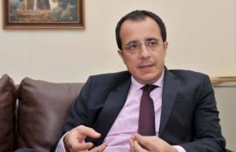 Hristodulidis Ürdün Dışişleri Bakanı İle Görüştü