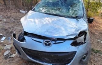 Haspolat - Lefkoşa Anayolu'nda kaza