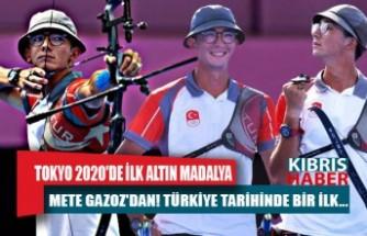 Tokyo 2020'de ilk altın madalya Mete Gazoz'dan! Türkiye Tarihinde bir ilk...
