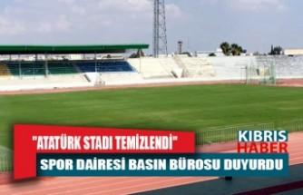 """""""ATATÜRK STADI TEMİZLENDİ"""""""