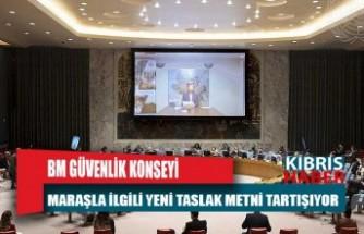 BM Güvenlik Konseyi Maraşla ilgili yeni taslak metni tartışıyor