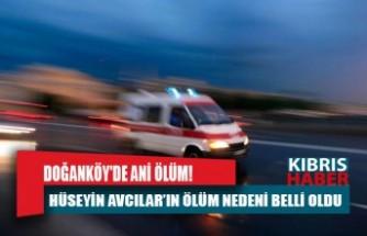Doğanköy'de ani ölüm!