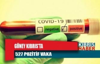 Güney Kıbrıs'ta son 24 saatte 527 pozitif vaka