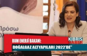 """Rum Enerji Bakanı: """"Doğalgaz altyapıları 2022'de"""""""