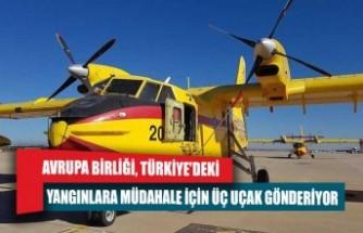 Avrupa Birliği, Türkiye'deki yangınlara müdahale için üç uçak gönderiyor