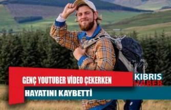 Genç YouTuber video çekerken dağdan düştü