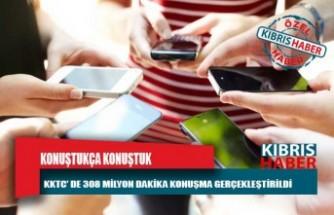 KKTC'de iki GSM operatörnün aboneleri 2021'in ilk üç ayında 308 milyon dakika konuşma gerçekleştirdi