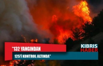 Pakdemirli: 132 yangından 125'i kontrol altında